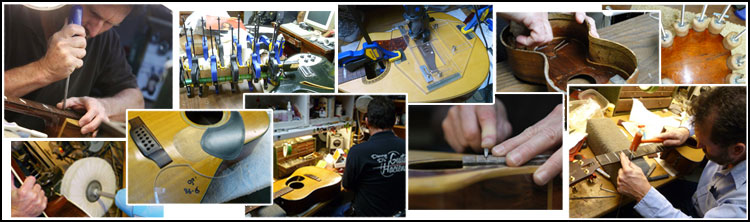 Guitar Repairs at Danny D's guitar hacienda