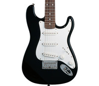 Fender Squier Affinity Mini Stratocaster Electric Guitar - Black