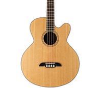 Alvarez AB60CE Solid Top Acoustic/Electric Bass Guitar