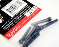 Taylor Guitar Parts - Bridge Pins - Plastic - Black Set of 6
