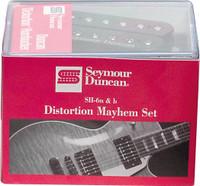 Seymour Duncan Distortion Mayhem Set - SH-6n & SH-6b Pickups
