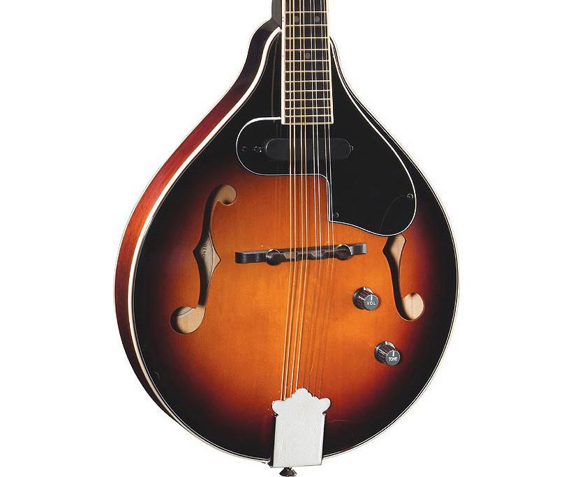 Fender Mandolin fm 52e Fender fm 52e Mandolin Sunburst