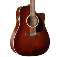 Art & Lutherie Cedar Antique Burst QI CW Acoustic/Electric Guitar