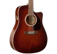 Art & Lutherie Cedar Antique Burst QI CW Acoustic/Electric Guitar