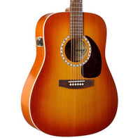Art & Lutherie Cedar Sunrise QI Acoustic/Electric Guitar