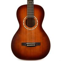 Art & Lutherie Ami Cedar Antique Burst Guitar w/ Gigbag