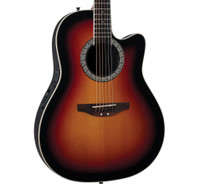 Ovation ICC24 Acoustic/Electric Guitar, Sunburst