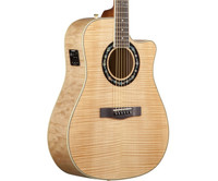Fender T-Bucket 400CE v2, Flame Maple Top - Natural