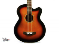 Michael Kelly Firefly 4-String Acoustic-Electric Bass, Sunburst