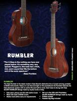 Kala UBass Rumbler Fretted Mini Bass w/ Gig bag