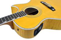 Guild Doyle Dykes Signature Acoustic Guitar - Nat w/ Case. DD6MCE