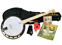 Deering's Goodtime 2 Rare Bird Alert Banjo Package