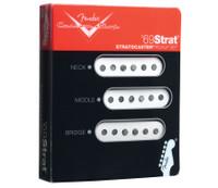 Fender Custom Shop '69 Strat Pickups, Set of 3 - White
