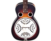 Guild R-35E, Maple Resonator Guitar, Squareneck - Vintage Sunburst