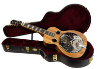 Guild R-37E, Koa Resonator Guitar, Squareneck - w/ Deluxe Case