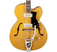 Guild X-175B Manhattan Guitar w/ Bigsby & Hardshell Case - Blonde
