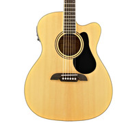 Alvarez RF26ce Folk Acoustic / Electric Guitar - Natural, with Gig Bag