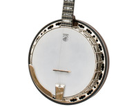 Deering Sierra 5 String Mahogany Banjo with Hardshell Case