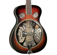 Regal RD-30T Roundneck Resonator Guitar - Tobacco