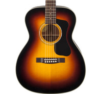 Guild F-130, Spruce/Mahogany Orchestra Guitar, Sunburst, with Case