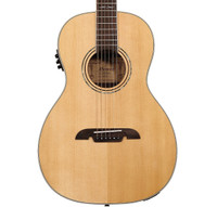 Alvarez AP70E Artist 70 Series Parlor Acoustic/Electric, Natural Finish