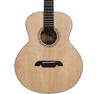 Alvarez LJ60 Artist Travel Series Little Jumbo Guitar, Natural Finish