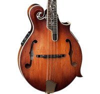 Legacy Dragonfly Flame Electric F-Style Mandolin - Antique Violin