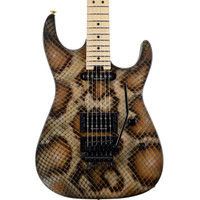 Charvel Warren DeMartini Signature Snake Electric Guitar w/ Snakeskin Case