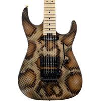 Charvel Warren DeMartini Signature Snake Electric Guitar w/ Snakeskin Case