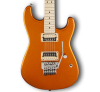 Charvel Super Stock SD1 FR Electric Guitar - Sunset Orange Flake