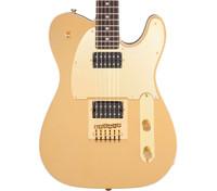 Fender's Squier J5 Tele, Rosewood Fingerboard, Frost Gold