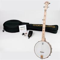 Deering's Goodtime 5-String Openback Banjo Starter Package