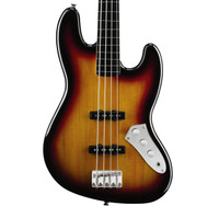 Fender's Squier Vintage Modified Jazz Bass Fretless, 3-Color Sunburst