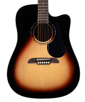Alvarez RD26CESB Dreadnought Acoustic Guitar - Sunburst