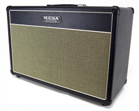 MESA/Boogie Lone Star 2x12 Cabinet - Black Taurus and Cream Black Jute Grille