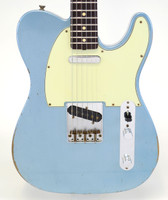 Fender Custom Shop 1963 Relic Telecaster - Blue Ice Metallic