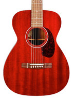 Guild M-120 Acoustic Guitar - Cherry Red with Polyfoam Case