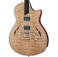 Taylor T3 Semi-Hollowbody Electric Guitar - Quilted Natural w/ Case
