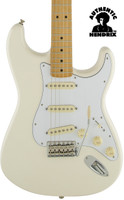 Fender Jimi Hendrix Stratocaster - Olympic White with Deluxe Gigbag