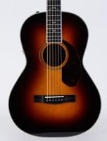 Fender Paramount PM-2 Deluxe Parlor Acoustic Guitar - Vintage Sunburst with Case