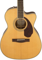 Fender Paramount PM-3 Triple-0 Acoustic Guitar - Natural, Fishman Preamp, with Case