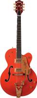 G6120 Chet Atkins Hollow Body, Ebony Fretboard, Orange Stain