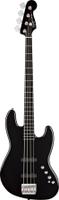 Squier Deluxe Jazz Bass® IV Active (4 String), Ebonol Fingerboard, Black