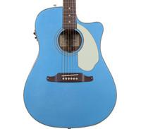 Fender Sonoran SCE Acoustic Electric Guitar - Lake Placid Blue