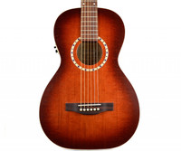 Art & Lutherie Ami Cedar Antique Burst QI Guitar w/ Gigbag