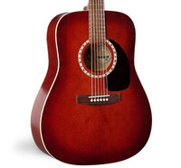 Art & Lutherie Spruce Burgundy Acoustic Guitar