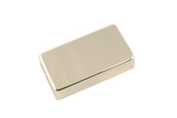 PC-0307-001 Humbucking Pickup Covers No Holes Nickel