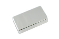 PC-0307-010 Humbucking Pickup Covers No Holes Chrome