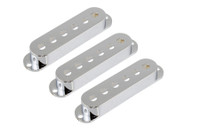 PC-0406-010 Set of 3 Chrome Pickup Covers for Stratocaster®