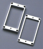 PC-0438-010 Metal Humbucking Ring Set Curved Chrome